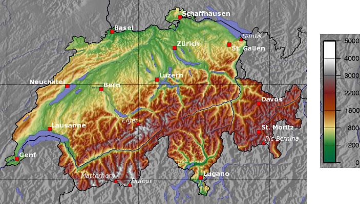 Sveitsi Matkaopas Alpeille